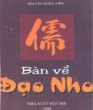 Ebook Bàn về đạo Nho: Phần 1 - Nguyễn Khắc Viện