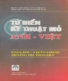 Ebook Từ điển kỹ thuật Mỏ Anh - Việt: Phần 2 - NXB Khoa học và Kỹ thuật