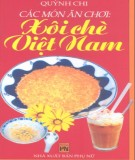 Xôi chè Việt Nam - Các món ăn chơi: Phần 2