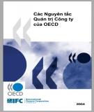 Ebook Các nguyên tắc quản trị công ty của OECD: Phần 1 - Tổ chức Hợp tác và Phát triển Kinh tế