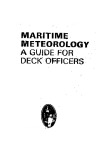 Maritime Meteorology: A Guide for Deck Officers (Deck Officer series) - Charles W. Roberts, C. E. N. Frankcom