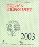 Ebook Từ điển tiếng Việt: Phần 2 – Viện ngôn ngữ học