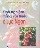 Ebook Kinh nghiệm trồng vải thiều ở Lục Ngạn: Phần 2 – GS.TS. Ngô Thế Dân