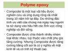 Bài thuyết trình: Epoxy