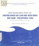 Chuyến khảo sát liên hợp biển Đông Việt Nam - Philippines - Báo cáo khoa học Hội nghị khoa học 1996: Phần 1