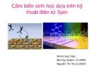 Bài thuyết trình: Cảm biến sinh học dựa trên hiện tượng điện tử Spin
