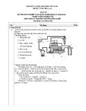 Đáp án Đề thi tốt nghiệp Cao đẳng nghề khóa II (2008 - 2011) nghề Công nghệ ô tô môn Lý thuyết chuyên môn nghề (Mã đề thi: DA OTO-LT38)