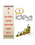 20 Ý tưởng kinh doanh hiệu quả