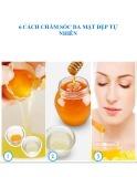 6 cách chăm sóc da mặt đẹp tự nhiên