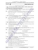 Tài liệu ôn thi THPT Quốc gia môn Toán Chuyên đề 8: Hình học phẳng Oxy