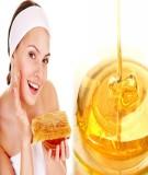Cách trị nám da mặt hiệu quả bằng mật ong