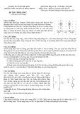 Đề thi kiểm tra học kỳ II năm học 2014-2015 môn Vật lý khối 11 - THPT Chuyên Lê Hồng Phong