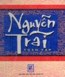 Ebook Nguyễn Trãi toàn tập (Ức Trai thi tập): Phần 1 – Hoàng Khôi (biên dịch)