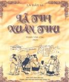 Ebook Lã thị Xuân thu: Phần 1 – Lã Bất Vi, Phạm Văn Các (dịch)