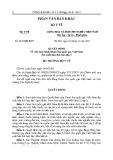 Quyết định Số: 4447/QĐ-BYT