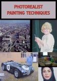 Photorealist painting techniques (grid enlargement)
