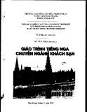 Giáo trình Tiếng Nga chuyên ngành Khách sạn - Vũ Thị Lan (chủ biên) (CĐ VHNT&DL Nha Trang)