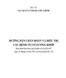 Giáo trình Hướng dẫn chuẩn đoán và điều trị các bệnh về cơ xương khớp: Phần 1 - PGS.TS. Nguyễn Thị Xuyên