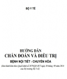 Giáo trình Hướng dẫn chuẩn đoán và điều trị bệnh nội tiết - chuyển hóa: Phần 1 - PGS.TS. Nguyễn Thị Xuyên