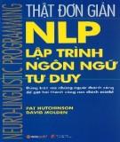 Ebook NLP - Lập trình ngôn ngữ tư duy: Phần 2 - David Molden, Pat Hutchison