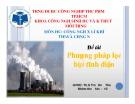Bài thuyết trình môn Công nghệ xử lý khí thải và tiếng ồn: Xử lý khí thải bằng phương pháp lọc bụi tĩnh điện