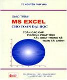 Giáo trình MS Excel cho Toán đại học: Phần 2 - TS. Nguyễn Phú Vinh (ĐH Công nghiệp TP.HCM)