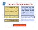 Bài giảng Phân tích dữ liệu với SPSS: Chương 7 – Nguyễn Văn Vũ An (ĐH Trà Vinh)