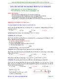 Giải chi tiết đề thi đại học môn Vật lý năm 2014 - Đỗ Minh Tuệ