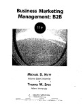 Business Marketing Management: B2B - Michael D. Hutt, Thomas W. Speh