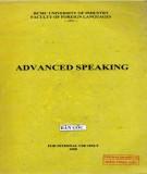 Advanced Speaking: Part 2