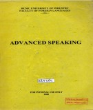 Ebook Advanced Speaking: Part 1