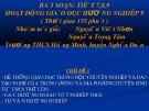 Bài giảng Tiết 7 - 8 - 9: Hoạt động giáo dục hướng nghiệp 9 (Chủ đề 3) - Nguyễn Viết Nhơn, Nguyễn Trọng Tâm