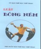 Ebook Luật bóng ném: Phần 1 - Ủy ban Thể dục Thể thao