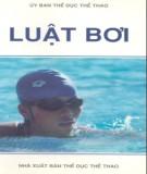 Ebook Luật bơi: Phần 2 - Ủy ban Thể dục Thể thao