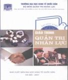 Giáo trình Quản trị nhân lực: Phần 1 – ThS. Nguyễn Văn Điểm, ThS. Nguyễn Ngọc Quản (chủ biên) (ĐH Kinh tế Quốc dân)