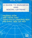 A guide to Business and Social letters - Part 2