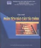 Giáo trình Phân tích báo cáo tài chính: Phần 1 – PGS.TS. Nguyễn Năng Phúc