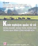 Quá trình công nghiệp hóa - Kinh nghiệm quốc tế về nông nghiệp, nông thôn, nông dân: Phần 1