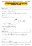 Dự đoán câu tích phân trong kì thi THPTQG 2015 - Thầy Đặng Việt Hùng