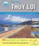 Tạp chí thủy lợi: Số 335 (7+8/2000)