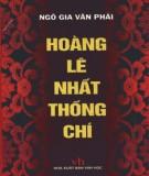 Ebook Hoàng Lê nhất thống chí: Phần 2 – Ngô Văn Gia Phái