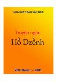 Truyện ngắn Hồ Dzếnh - NXB Văn học