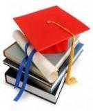 Đề tài: Một số biện pháp quản lý nâng cao chất lượng hoạt động tự học của học sinh nội trú Trường PTDTNT Cà Mau.