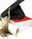 Luận văn Thạc sĩ Khoa học giáo dục: Vận dụng phương pháp dạy học theo dự án để dạy học chuyên đề giáo dục môi trường cho sinh viên ngành giáo dục tiểu học