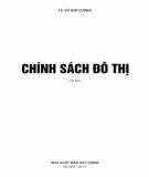 Ebook Chính sách đô thị: Phần 1 - TS. Võ Kim Cương