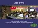 Giới thiệu Webcast Vietnam