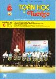 Tạp chí Toán học và Tuổi trẻ Số 456 (Tháng 6/2015)
