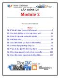 Lập trình iSO (Module 2) - TTTH ĐH KHTN