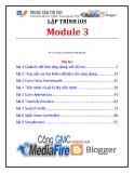 Lập trình iSO (Module 3) - TTTH ĐH KHTN