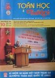 Tạp chí Toán học và Tuổi trẻ Số 448 (Tháng 10/2014)